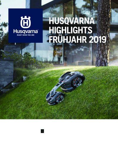 HUSQVARNA Frühjahrsprospekt 2019