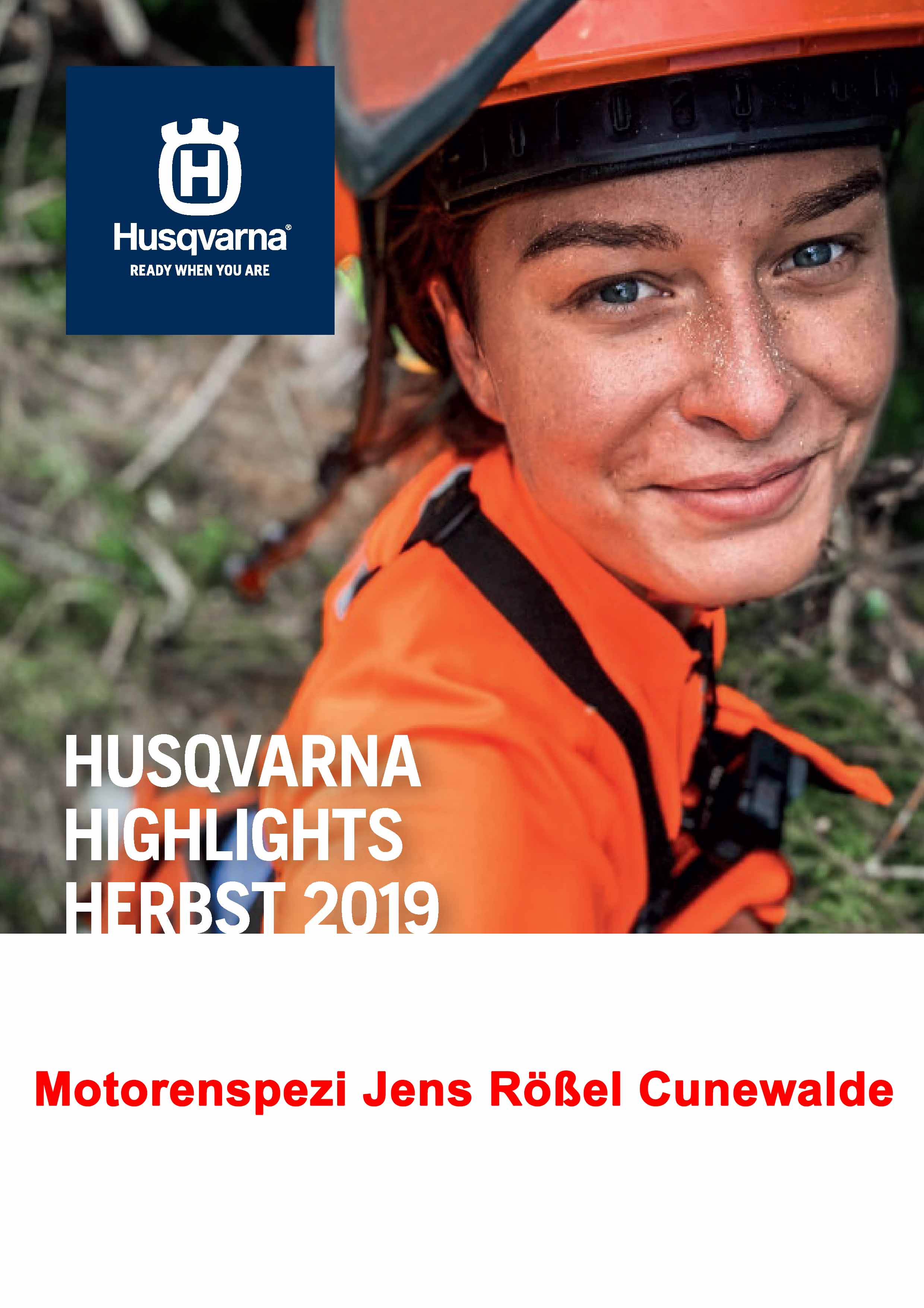 Husqvarna Herbstaktion 2019